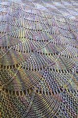 Ravelry: Harlequin Opal Shawl pattern by verybusymonkey