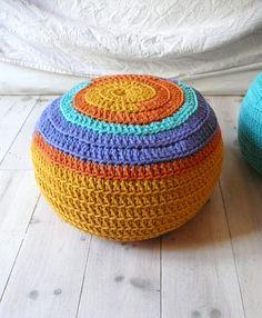 I need to make a crocheted floor cushion already!