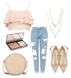 """Untitled #311"" by katiestjean on Polyvore featuring Neiman Marcus, Valentino, Topshop and Urban Decay"