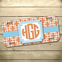 Personalized License Plate Car Tag Ole Miss By Stateofhappiness
