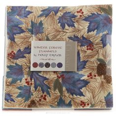 Winter Forest Flannels Layer Cake - Holly Taylor - Moda Fabrics I WOULD LOVE TO DO MY FIRST DENIM RAG QUILT WITH THESE FLANNELS