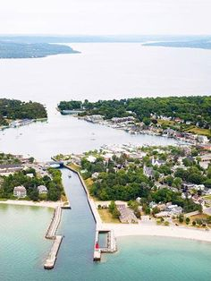 Almost every traveler finds a vacation to suit them in the small towns surrounding Michigan's Little Traverse Bay.