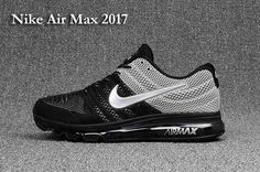 New Coming Nike Air Max 2018 3KPU Homme Chaussures  Noir Blanc https