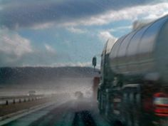 How to Avoid Getting Squashed by a Semi #1-Stay away from them!! That is my rule!