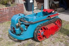 All original late 1950's snapping turtle riding mower