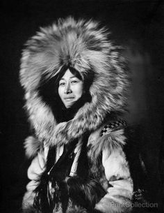 Eskimo Woman Posing