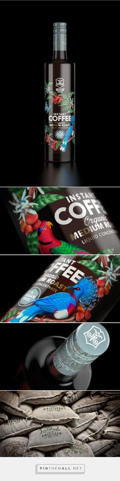Mosin Fresh Coffee Concentrate / Tried&True Design