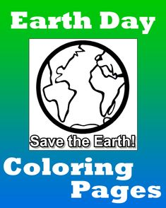 FREE printable Earth Day coloring pages for kids from PrimaryGames. www.primarygames.com
