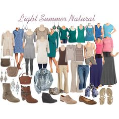 """Light Summer Natural"" by expressingyourtruth on Polyvore"