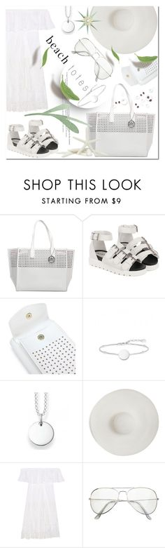 """""""Bag: Beach"""" by ilona-828 ❤ liked on Polyvore featuring Emilie M, Thomas Sabo, Ryan Roche, Anjuna, Summer, polyvoreeditorial and beachtotes"""