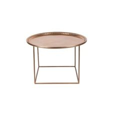 Zyan Copper Side Table