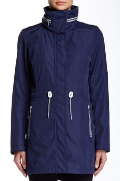 Concealed Hood Anorak by Jessica Simpson on @nordstrom_rack