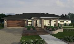 Lyndhurst-Nexus F Facade Family House Plans, Dream House Plans, Mcdonald Jones Homes, Facade House, Bungalow, My House, Gazebo, Home Goods, Floor Plans
