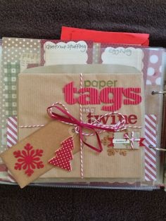 Rachel_B's World: **Journal your Christmas 2012!**