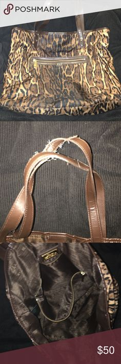 """Ralph Lauren Tote! Used, flaws in photo on handles. Inside is perfect! Only used for a little. Aprx. 18 x 15"""" Ralph Lauren Bags Totes"""