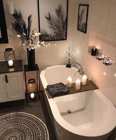 30 Adorable Contemporary Bathroom Ideas to Inspire - .- 30 entzückende zeitgenössische Badezimmer-Ideen zu inspirieren – 30 adorable contemporary bathroom ideas to … - Bad Inspiration, Bathroom Inspiration, Bathroom Theme Ideas, Bathroom Inspo, Relaxing Bathroom, Bath Tub Decor Ideas, Bath Ideas, Womens Bathroom Ideas, Pinterest Inspiration