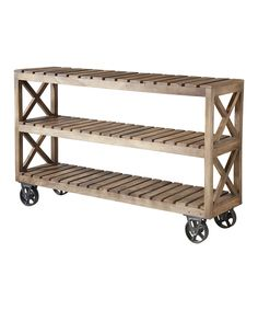 Do , can! --- Look at this #zulilyfind! Spice Road Shelf Table by Timber Lane Furniture #zulilyfinds