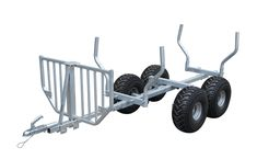 Overall size: Bed size: Capacity: Wheel: Container load: Coupler/safety wire Included Crane Optional Package Wood box Atv Dump Trailer, Trailer Axles, Atv Trailers, Passengers Trailer, Galvanized Sheet, Wood Boxes, Crane, Safety, Container