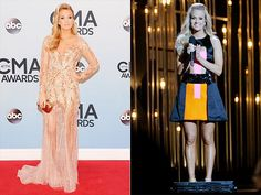 Gallery of Fame: 'Look at Me! Carrie Underwood Cma, Macy Gray, Grey Artist, Country Music Awards, Cma Awards, Carry On, Singer, Hair, Dresses
