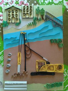 Pile driver and steel piles by quilling