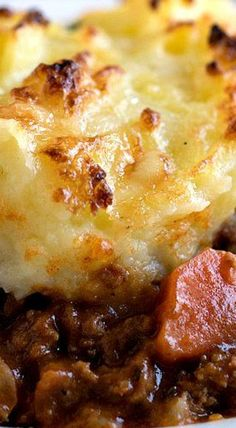 Cheddar Topped Shepherd's Pie