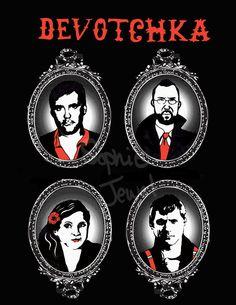 Ela Veste Preto...: DeVotchKa - A Banda Tema de Ferdinando em Meu Pedacinho de Chão