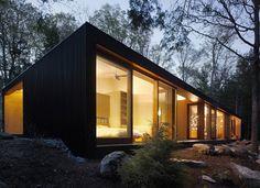 Clear Lake Cottage: Busyboo: Ontari, Maclennan Jaunkains Miller Architects