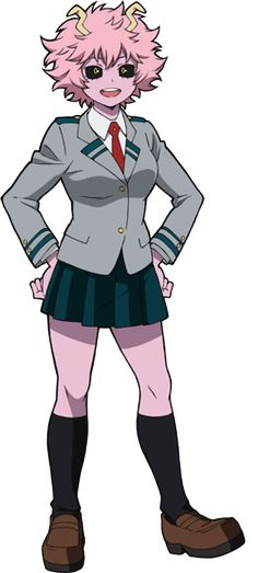 Anime: Boku No Hero Akademische Persönlichkeit: Mina Ashido Cosplay (コスプレ kosupure), a portmanteau of the words costume play, is a performance art in which participants called cosplayers wear costumes and fashi. My Hero Academia Uniform, My Hero Academia Manga, Tsuyu Asui, Plain White Mask, Ua Uniforms, Alien Queen, Tv Tropes, Hero Costumes, Anime People
