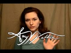 Amy Walker teaches how to have different accents! I can't stop watching her videos!!! :)