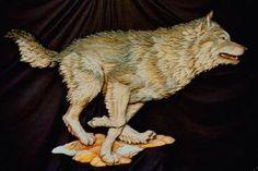 Colorado Woodcarver - Jeffrey Hughes - Wildlife carvings and Bronzes