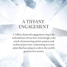 Explore Tiffany's extraordinary engagement designs. You're sure to find the perfect style for your beloved.