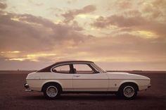 Ford Capri - unser erstes Familienauto.