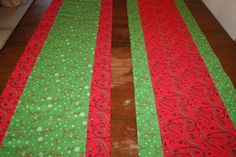 Close-up of table runners