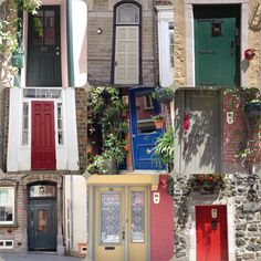 The doors of Old Quebec City