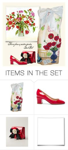 """Flowers from a Painter's Garden"" by bb60477 ❤ liked on Polyvore featuring art and 6180"