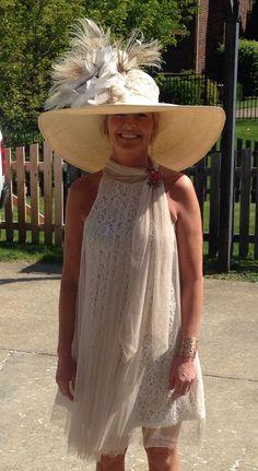 My Kentucky derby hat 2015!!  Last minute creation
