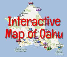 Tourist Map Of Oahu Hawaii Map Inspirations Pinterest Oahu