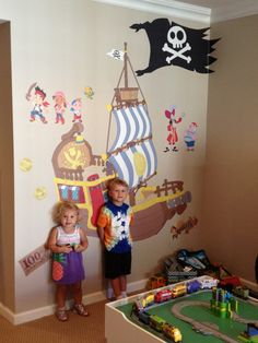 The nice people at Fathead helped me make my kids' toy room amazing!