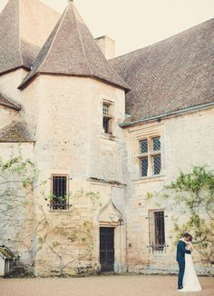 French Castle wedding by Anne-Claire Brun