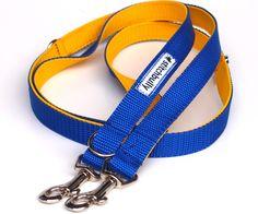 Hund: Leinen - Sonstige - Sportline von stitchbully - Hunde Leine zweifarbig - ein Designerstück von stitchbully bei DaWanda