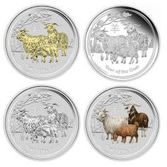 Click here to buy the Australian Lunar Series II 2015 Year of the Goat 1oz Silver Proof Coin