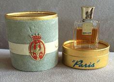 Vintage Coty Paris Perfume Bottle in Presentation Box