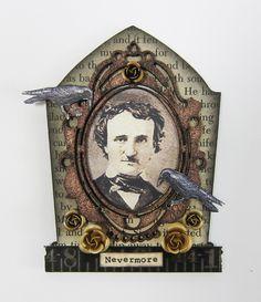 R.I.P.: Tombstones for Halloween. Edgar Allan Poe memorial. (K.Batsel)