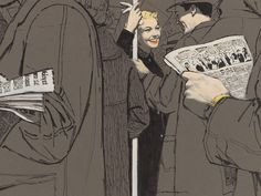 """Don Draper has opened a 37th floor window into the art of post-war American advertising, but a new exhibit of illustrations called Mac Conner: A New York Life is attempting to fill in the picture without all the alcohol-fueled melodrama. Born in 1913, McCauley """"Mac"""" Conner studied art via correspondence classes as a meek teen \[…\]"""