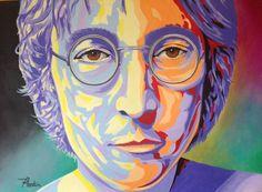 John Lennon by RMartimStudio on Etsy
