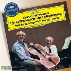 BRAHMS Cello Sonatas op. 38+99/Rostropovich,Serkin - Deutsche Grammophon