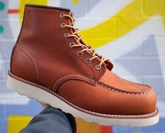 Red Wing Boots, Moc Toe 875 Oro Legacy