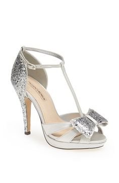 Menbur 'Bornehl' Satin & Glitter Pump available at #Nordstrom I AM IN LOVE WITH THESE SHOES!!