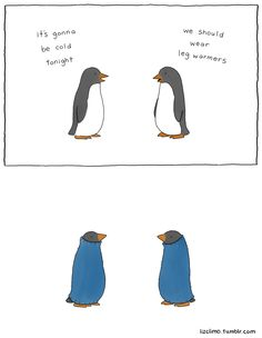 Liz Climo #Penguins