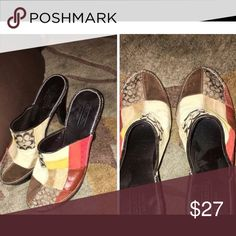 Coach shoes women's size 6 Coach shoes women's size 6 excellent condition Coach Shoes Mules & Clogs
